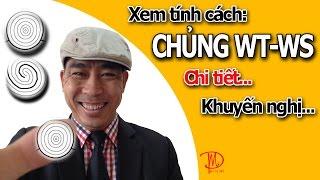 Xem Tính Cách Dấu Vân Tay Chủng Whorl( WT-WS) Đại Bàng trên Online Education