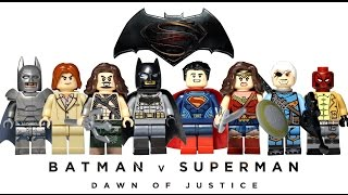 Lego Batman V Superman Knockoff Minifigures