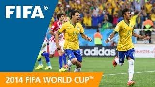 FIFA WC 2014 - Brazil vs. Croatia - International Sign