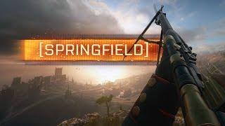 ► SPRINGFIELD SNIPER! - Battlefield 1