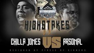 ARSONAL VS CHILLA JONES UDUBB HIGHSTAKES 2