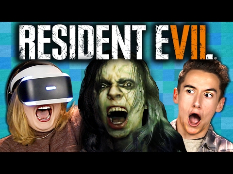 RESIDENT EVIL 7 Teens React Gaming