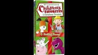 Hit Entertainment Children's Favorites - A Christmas Treasure (2004) [VHS]