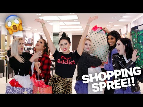 MY SUBSCRIBERS GET A FREE SHOPPING SPREE WITH ME