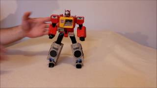 Transformers Titans Return Blaster with Twincast - GotBot True Review NUMBER 222