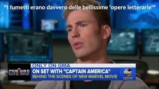 Captain America: CIVIL WAR - ABC's Interviews on set - (Sub ITA)