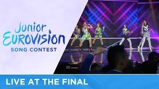 Anahit & Mary - Tarber (Armenia) LIVE 2016 Junior Eurovision