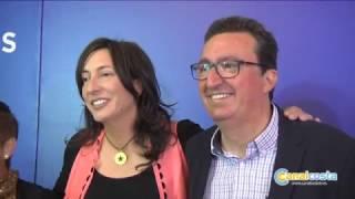 González (PP) presenta su candidatura a la reelección