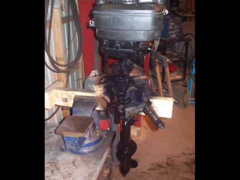 Lawn Mower To Outboard Conversion