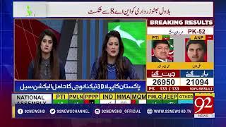 Election Special 2018 Transmission 9 AM | Rana Azeem | Zafar Hilaly | 26 July 2018 | 92NewsHD