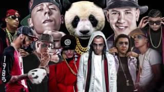 Almighty Feat. Farruko, Daddy Yankee, Cosculluela, Arcangel,  Y Más - Panda (Remix Completo)