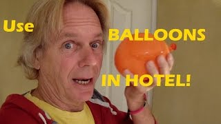 Travel Quiz, Why Keep Hotel Restroom Door Closed? Why Balloon? #hotels