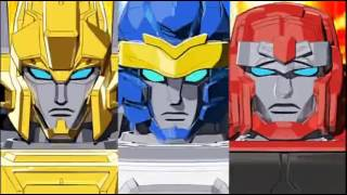 Transformers Go! Henshins and Combinations
