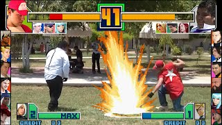 The King of Fighters 2001 - Live Action