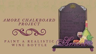 Amore Kitchen Chalkboard Tole and Decorative Painting by Patricia Rawlinson