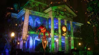2018 Haunted Mansion Holiday *NEW* Disneyland Park Complete Ridethrough