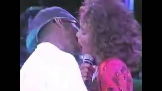 Whitney & Bobby that kiss 💯✅
