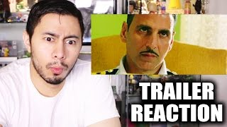 RUSTOM Trailer Reaction by Jaby Koay!