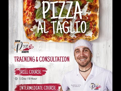 Massimiliano Saieva of Pizzarium / Roman Style Pizza / Pizza al Taglio / Roman Pizza Academy