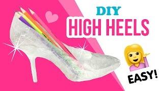 DIY Transparent High Heels!!! Make Budget Perspex Boots XD!!