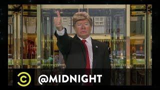 Donald Trump Presents #HashtagWars - #TrumpAQuote - @midnight with Chris Hardwick