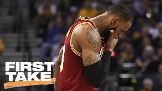 LeBron James Losing NBA Finals Against Warriors Would Be A Big Deal | First Take | May 31, 2017