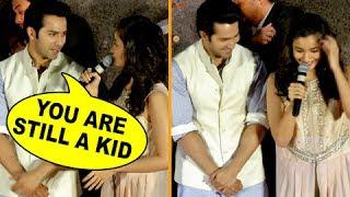 Varun Dhawan Makes Fun Of Alia Bhatt, Calls Her A Kid