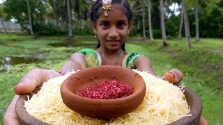 #5 Years Old Indian Village Girl Making Delicious Semia | Traditional Dessert of India