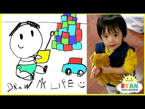 Xxx Mp4 Draw My Life Ryan ToysReview Animated Kids Cartoon 3gp Sex