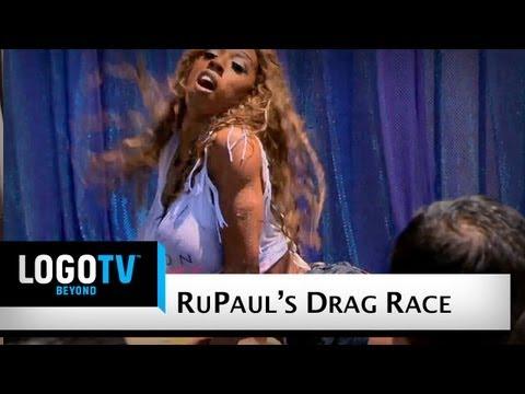RuPaul s Drag Race Season 4 Wet T Shirt Contest Logo TV