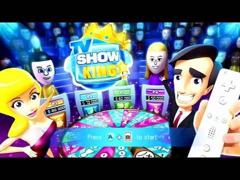 TV Show King Party Wii Gameplay