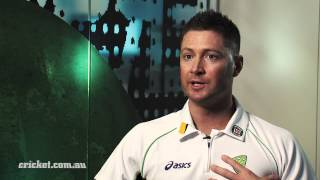 Clarke opens up on