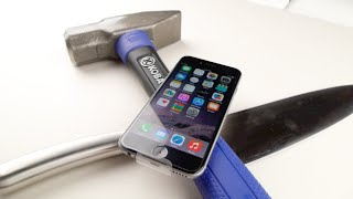 iPhone 6 Hammer & Knife Scratch Test