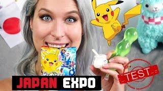 Test słodyczy z Japan Expo - Aga Testuje #26