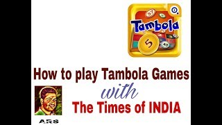 Tambola Games with Times of India!!
