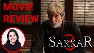 Sarkar 3 | Movie Review | Anupama Chopra