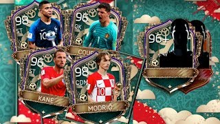 World MOTM Packs, New Icons, and World Cup Golden Award Winners in FIFA Mobile 18