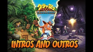Japanese Version of Crash Bandicoot N. Sane Trilogy - Intros and Endings  クラッシュ・バンディクー ブッとび3段もり!