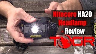 Nitecore HA20 Headlamp - Review