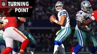 Dak Prescott's Poise Under Pressure Carries Cowboys Past Chiefs (Week 9) | NFL Turning Point