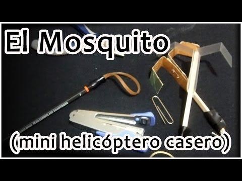 El Mosquito Mini helicóptero casero