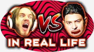 PewDiePie Vs T Series In Real Life!