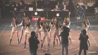 [Fancam] 091119 SNSD - Genie, Chocolate Love@NH Nonghyup 2009-2010 V-League