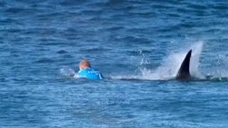 حمله کوسه به قهرمان موج سواری جهان