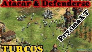 Atacar y Defenderse con ** Turcos ** - Estrategias - BF - Age of Empires II The Conquerors HD