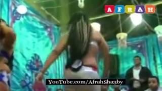 الراقصة ليالى رقص جنسى ساخن شبة عارية فرح شعبى مسخرة للكبار فقط حصريا 2014   Afrah Sha3by
