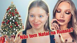 Maquiagem Dourada para Natal + Look   Daria Dasha