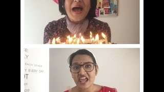 How Moms behave on Birthdays- Tamil Vs Foreign Style