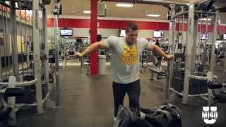 IFBB Pro Ben Pakulski Brutal Chest Finisher with John - Part 4