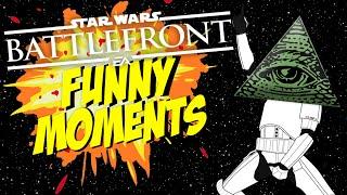 !ILLUMINATI! Star War Battlefront FUNNY moments #7
